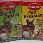 Витаминные лакомства для кроликов