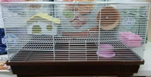 Двухэтажная клетка для грызунов