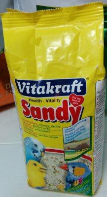 песок vitakraft для попугаев