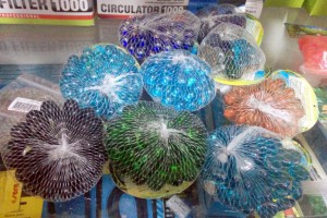 Стеклянный грунт для аквариумов