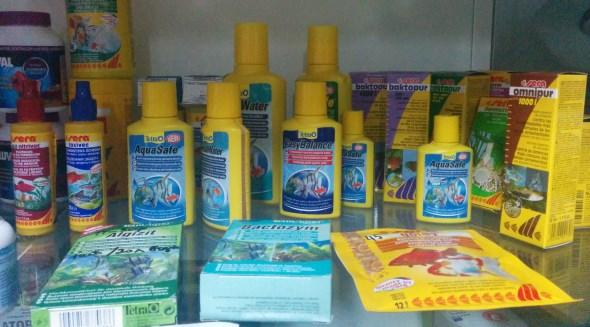 Химия для аквариумов